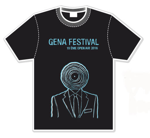 T-SHIRTS 2016 - version vinyl